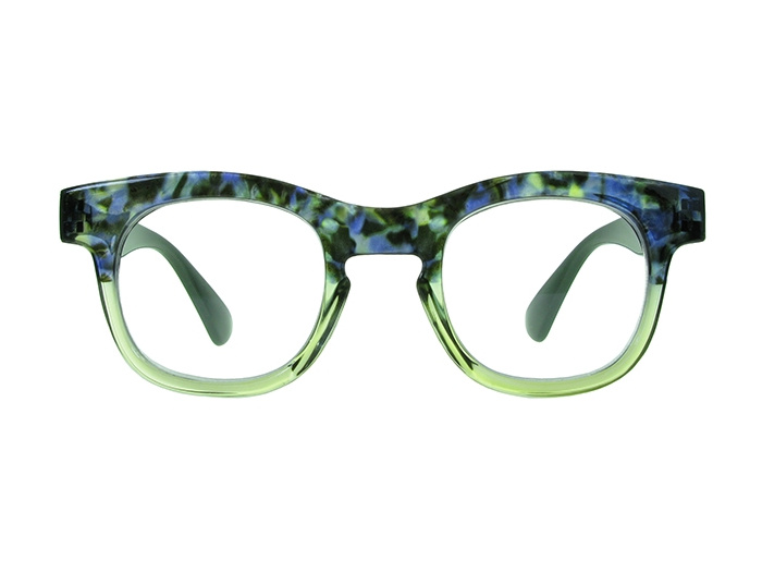 'Bravo' Reading Glasses  Green