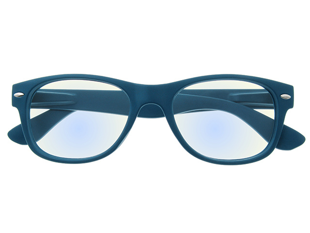 'Billi BlueLight' Reading Glasses Matte Blue