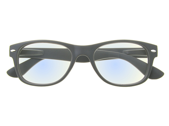 'Billi BlueLight' Reading Glasses Matte Gray