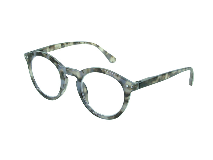 'Embankment' Reading Glasses Grey Tortoiseshell