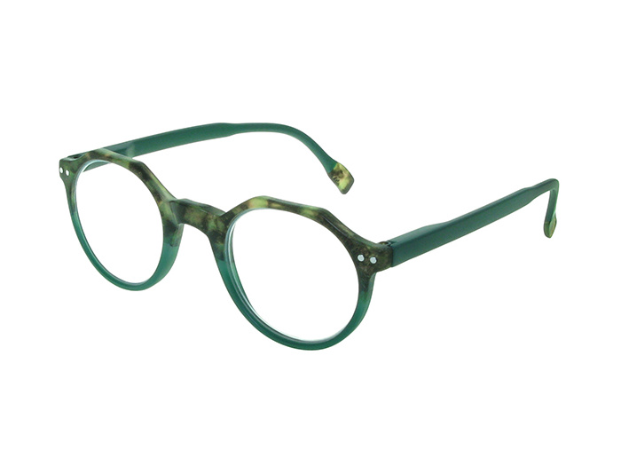 'Keaton' Reading Glasses Tortoiseshell/Green