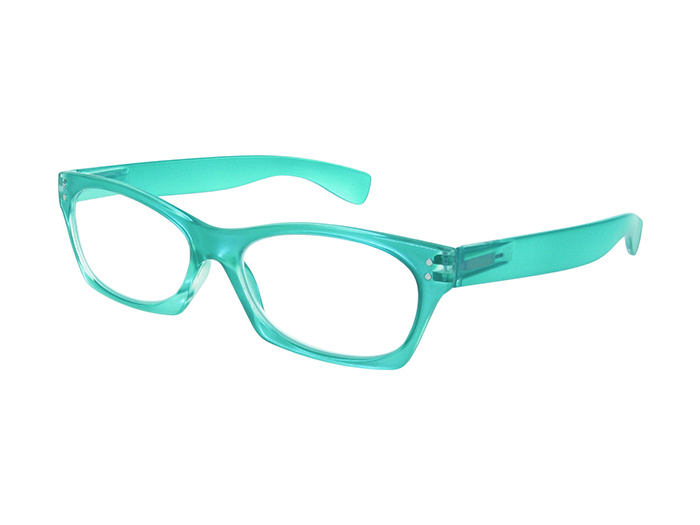 'Eliza' Reading Glasses Turquoise