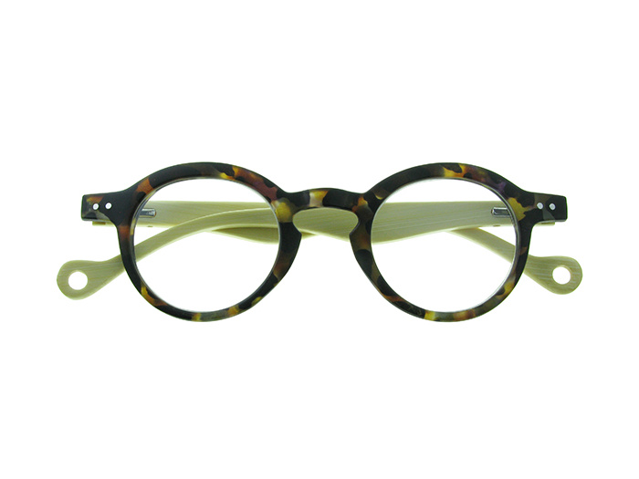 'Clarke' Natural Bamboo Readers Tortoiseshell