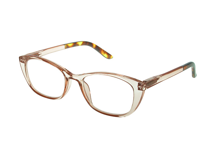 'Uma' Reading Glasses Brown/Tortoiseshell