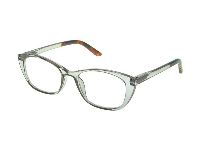 'Uma' Reading Glasses Grey/Tortoiseshell