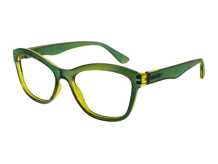 'Margot' Reading Glasses Green And Yellow