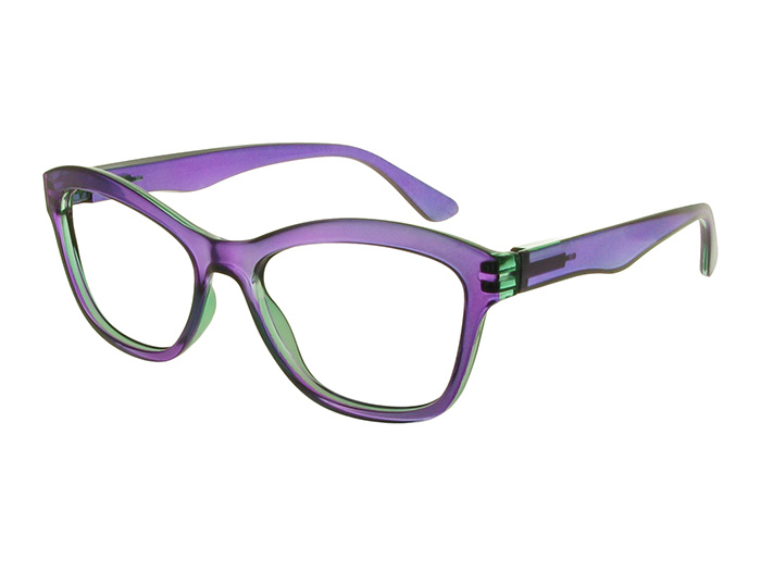 'Margot' Reading Glasses Purple And Teal