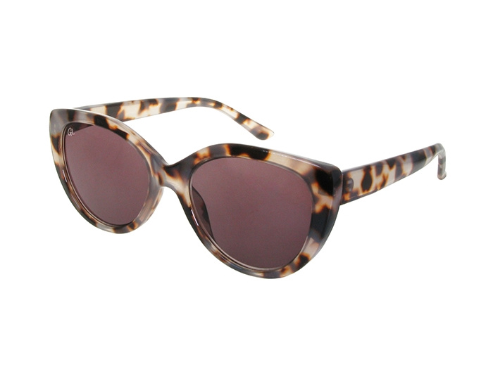 'Willow' Polarized Sunglasses White Tortoiseshell
