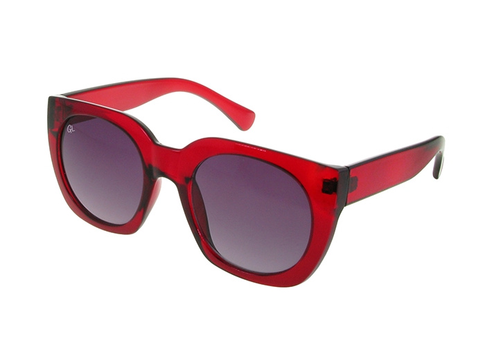 'Riviera' Polarized Sunglasses Red