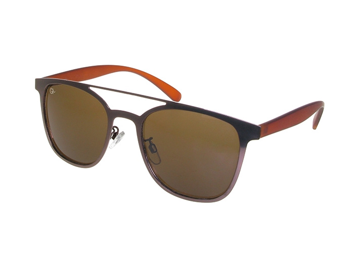 'Longbeach' Polarized Sunglasses Brown