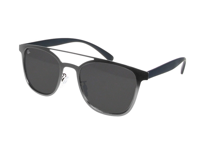 'Longbeach' Polarized Sunglasses Gun Metal