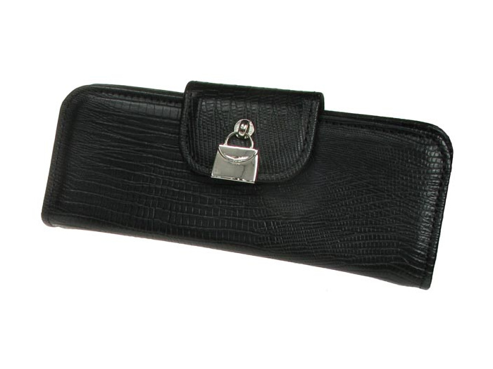 'Handbag Design' Glasses Case Black