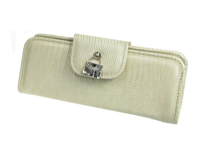 'Handbag Design' Glasses Case Cream