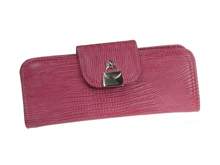 'Handbag Design' Glasses Case Pink