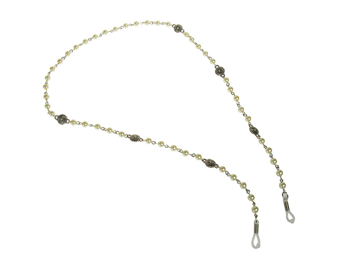 Pearl and Flower' Glasses Chain