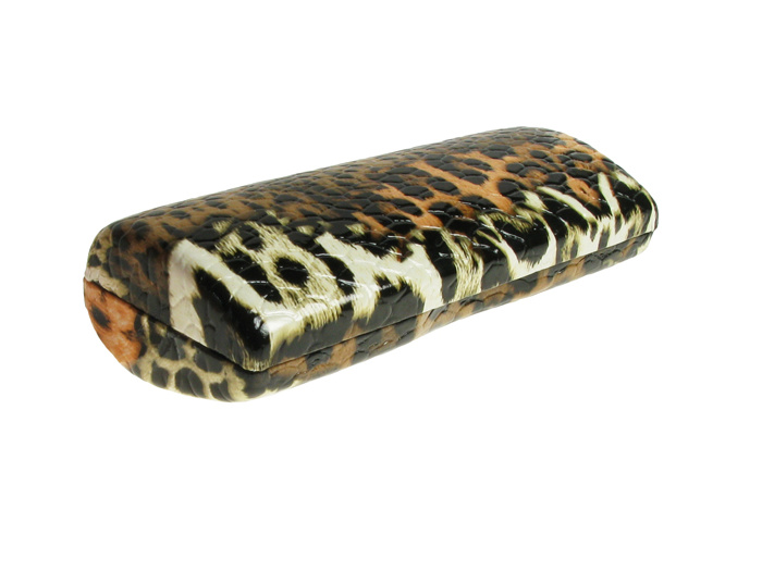 'Wildlife Print' Glasses Case Leopard Print